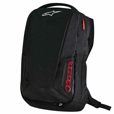 Alpinestars City Hunter Motorcycle Backpack Rucksack Black Red