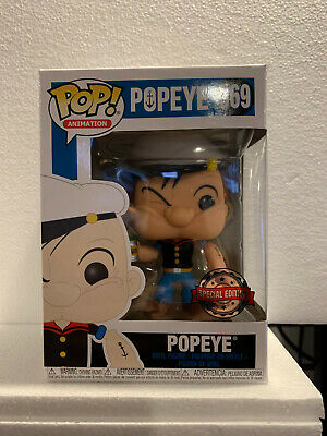 Popeye Special Edition Pop! Animation Vinyl Figure Funko New