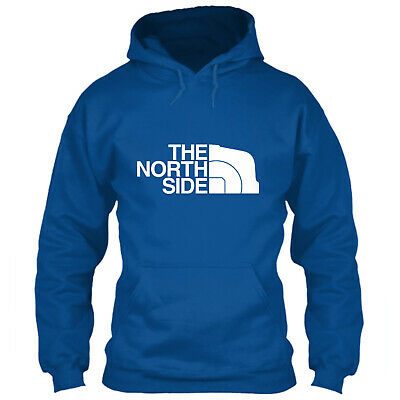 Chicago Cubs Hoodie The North Side Face Logo S M L XL 2XL 3XL 4XL 5XL Sweatshirt