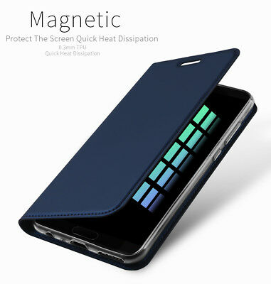 DD For Huawei Honor 9 Lite PU Leather Flip Case Wallet Magnetic Skin Stand Cover