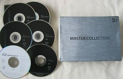 Adobe Creative Suite 4 Master Collection - Mac OS - Photoshop Dreamweaver etc.