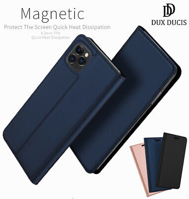 DD For iPhone 11 & 11 Pro Max PU Leather Flip Case Wallet Magnetic Skin Cover