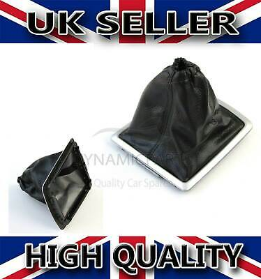 Gear Lever Gearstick Gaiter With Frame For Ford Focus Mk2 C-Max 1342945