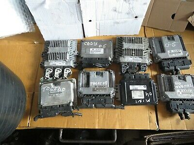 Ford Galaxy Vw Caddy Golf Turan Passat Mini Seat Ecu Joblot X8 All Tested 04-14