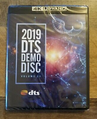 NEW 2019 DTS Demo Disc Vol 23 4K Ultra HD BluRay Sealed: SHIPS FREE IN US!!!