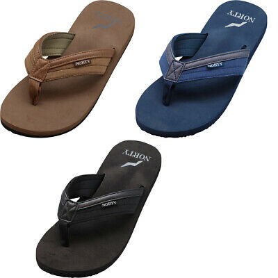 NORTY Men's Sandals for Beach, Casual, Outdoor & Indoor Flip Flop Thong Shoe