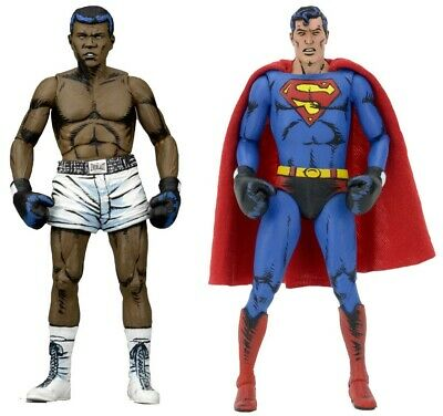 Dc Comics - Superman Vs Muhammad Ali 2-Pack Special Edition Action Figure Neca