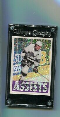 1994 Topps- Premier Hockey - Assists- League Leader - Wayne Gretzky #154