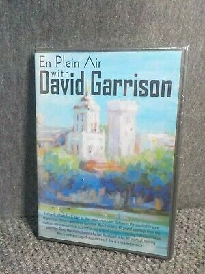 En Plein Air with David Garrison DVD Painting Scenery in south of France Pastels