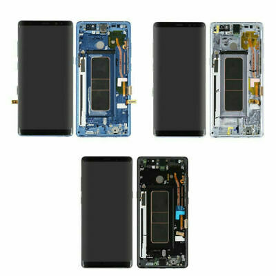NEW For Samsung Galaxy note 8 SM-N950 LCD Display Screen Touch Digitizer +Frame