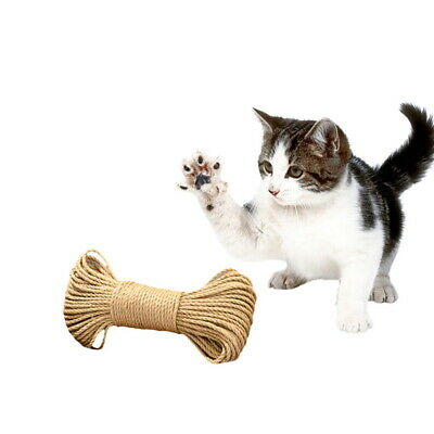 100% Natural Sisal Rope Garden Decking Pets Cat Scratching Post Cat Toy Amimals