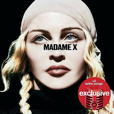 TARGET EXCLUSIVE Madame X MADONNA NEW CD Bonus Tracks DELUXE 15 Track Album