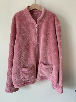 Girls Pink Marks And Spencer M&S Age 8-10 8-9 Pink Jacket Lounge Wear