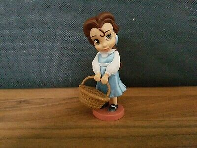 "Disney Animators Collection Belle Beauty and the beast Figure 3.5"" Princess new"