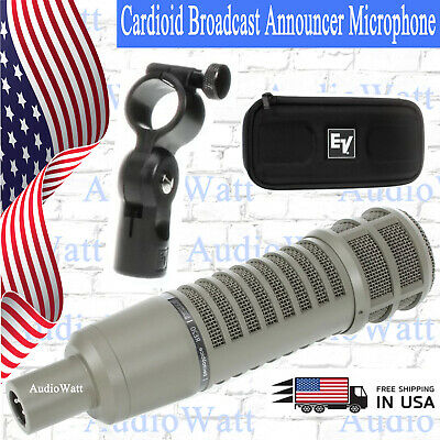 Electro-Voice RE20 True Cardioid Broadcast Announcer Microphone Variable‑D - UC