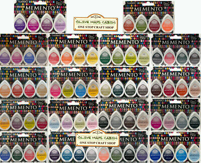 Memento Dew Drop Ink Pads Kit  ::  All Colours  ::  Tsukineko Ink Sets
