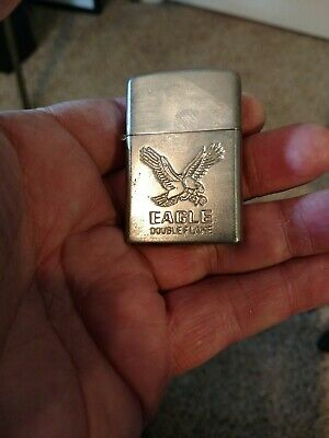 Vintage Eagle Double Flame lighter.