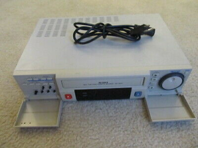 Sanyo SRT-6000 Real Time Video Cassette Recorder Great For CCTV