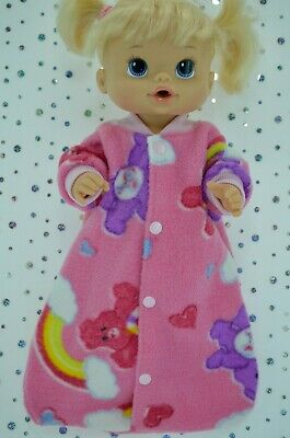 "Play n Wear Dolls Clothes For 13"" Baby Alive POLAR FLEECE SLEEPING BAG"