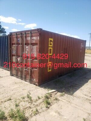 Shipping Storage Container Connex Sealand Shed Warehouse 20'*40'*HC CW Barn