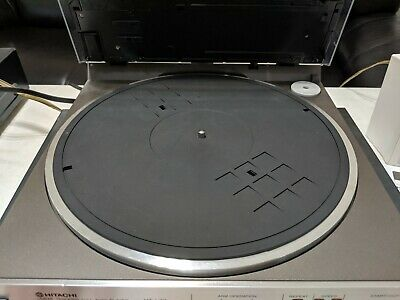 Hitachi HT L33 Linear Tracking Turntable New Belts Clean Nice Made in Japan