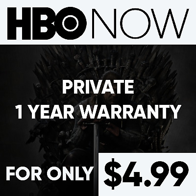Hbo Premium Account | 1 Year Warranty | Private | $4.99