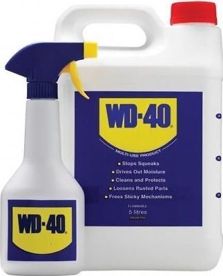 Wd40 5 Litre With Applicator Spray Bottle WD-40 Multi Purpose 5L FREE SHIPPING*
