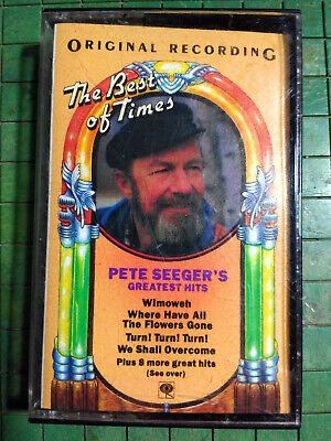 Pete Seeger's The Best of Times: Greatest Hits Audio Cassette