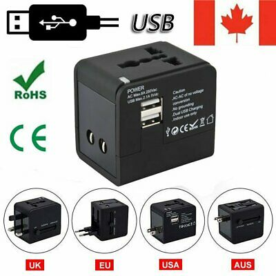 International Travel Adapter Power Plug All in One Charger Converter Universal