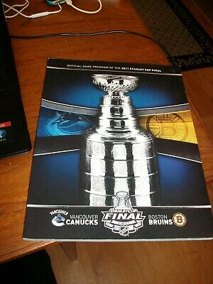 Official Game Program of the 2011 Stanley Cup Final (NHL)