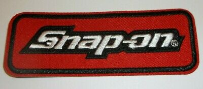 "Snap-On Tools~Embroidered Patch~Car Truck Auto Mechanic~4"" x 1 1/2""~Iron Sew On"