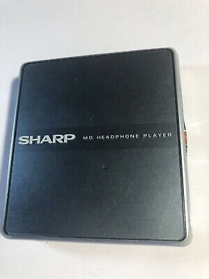 SHARP Portable Minidisc Player MD-ST600-S. MDLP.