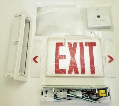New Philips Chloride SEW1R LED Edge LIT Exit Sign
