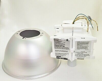 """New Hubbell BL400H8WHBIUPL 14"""" Superbay Reflector"""