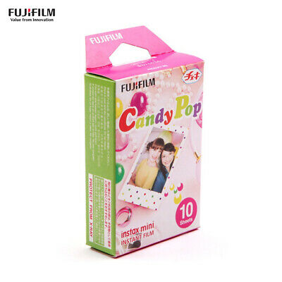 10 Sheets Fujifilm Instax Mini Film for Fujifilm Instax Mini 9/8/7s/25/50s/70/90