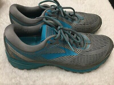 0333b17a4a043 BROOKS WOMEN'S GHOST 11 Road Running Shoes - Grey/Silver/White ...