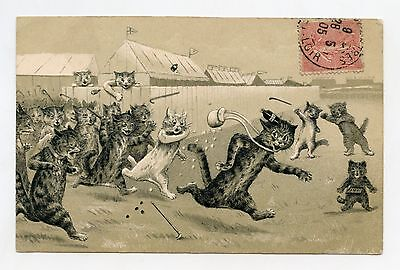 Louis Wain Non Signed. Unsigned. Cats .cat. Katze. Gato