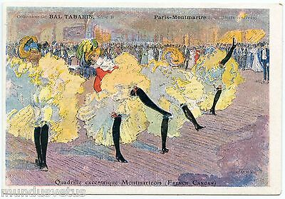 Ball Tabarin. Quadrille Quirky Montmartre. French Cancan.