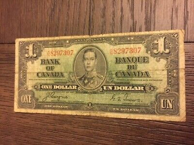 1937 Canada One Dollar SHIPS FOR FREE