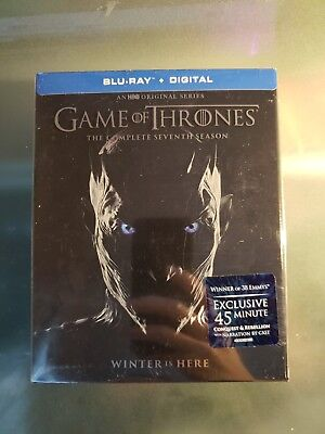 BRAND NEW Game of Thrones Season 7 (Blu Ray, 2017,4-Disc Set)