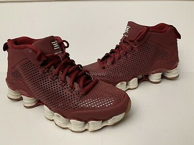 best website eee04 7e9d3 RARE Nike Shox TLX MID SP Mens Sz 6.5 Basketball Sneakers Shoes Maroon