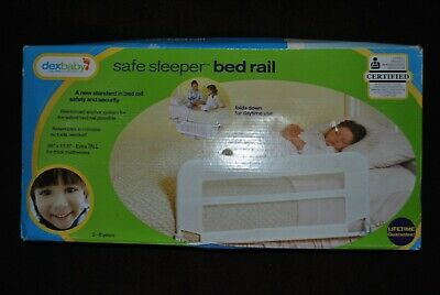 dexbaby Safe Sleeper Bed rail 36x17 Extra Tall For Thick Mattress