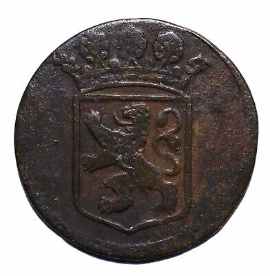 1752 Netherlands East Indies One 1 Duit (Holland); KM#70 - Lot 813