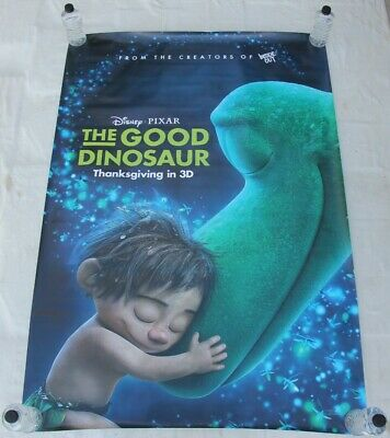 The Good Dinosaur Pixar Walt Disney BUS SHELTER MOVIE POSTER 4'x6'