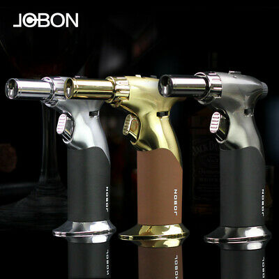 Jobon Windproof Jet Flame Torch Refillable Butane Gas Cigar Lighter