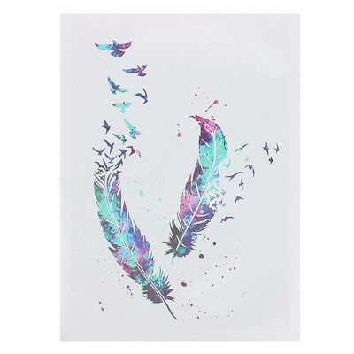 Modern Abstract Watercolour Bird Canvas Print Painting Art Home Wall Decor New