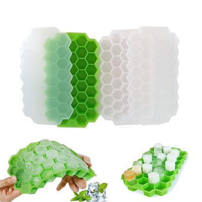 37 Grids Silicone Honeycomb Shape Ice Cube Maker Frozen Ice Tray Mold DIY Tools