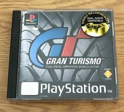 Gran Turismo The Real Driving Simulator for Sony PlayStation PS1 PAL Region