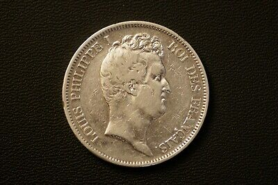 5 Francs Louis Philippe I 1831 W (Lille )