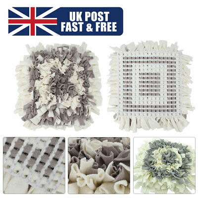 Washable Dog Snuffle Mat Pet Cat Food Mat Pressure Relieving Nosework Training